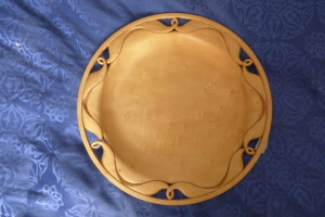 Timber carved platter
